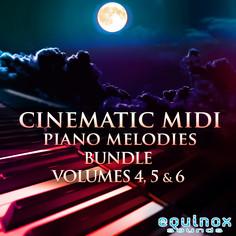 Cinematic MIDI Piano Melodies Bundle (Vols 4-5-6)