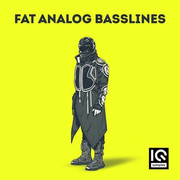 IQ Samples: Fat Analog Basslines