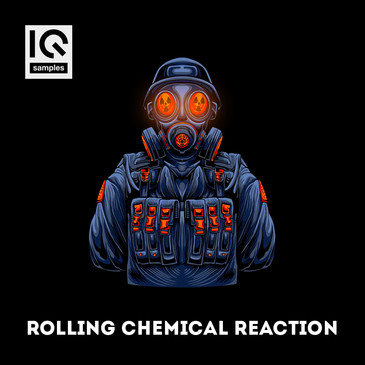 Rolling Chemical Reaction