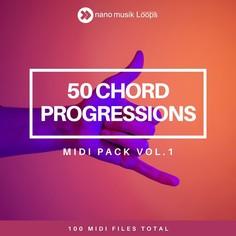 50 Chord Progressions - MIDI Pack Vol 1