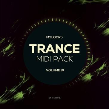 Trance MIDI Vol 16