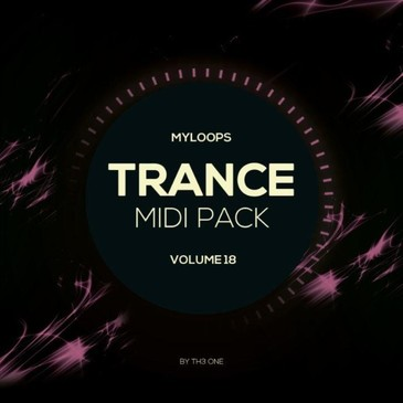 Trance MIDI Vol 18
