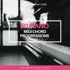 50 Piano MIDI Chord Progression