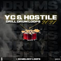 YC & Hostile - Drill Drum Loops 2021