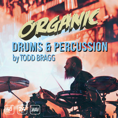 Organic Drums & Percussion by Todd Bragg