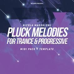 Nicola Maddaloni Pluck Melodies For Trance & Progressive