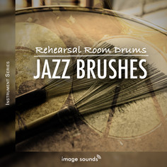 Rehearsal Room Drums Jazz Brushes